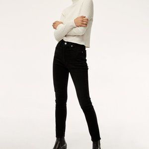 Citizens of Humanity Olivia High Rise Black Jeans